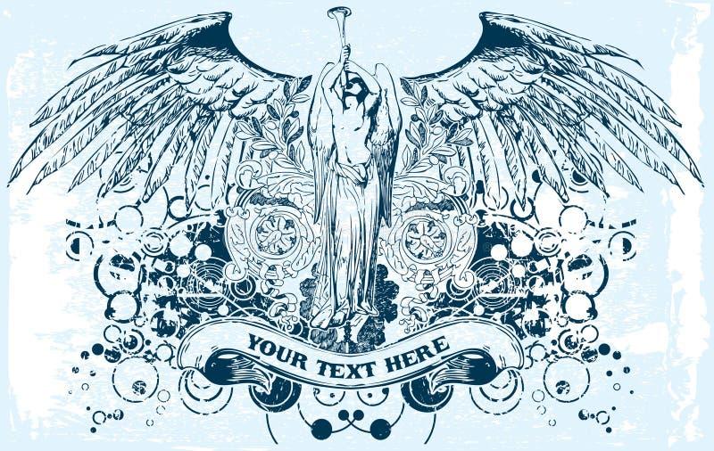Dirigez l'ange illustration libre de droits