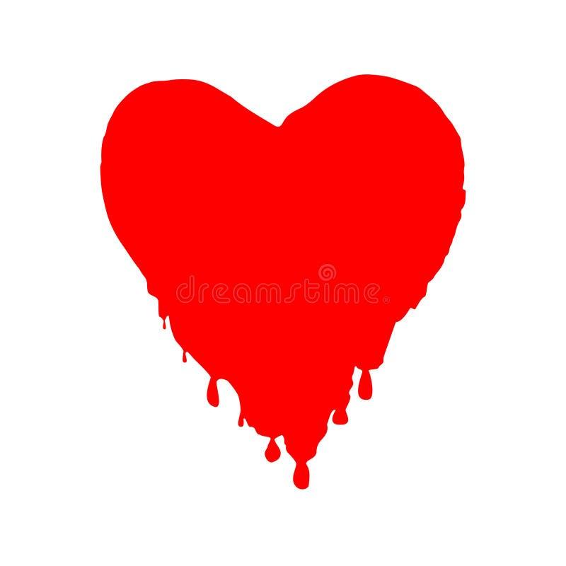 Dirigez l'illustration avec la baisse abstraite de sang pour le jour de donneur de sang du monde - 14 juin Symbole de jour du `s  illustration libre de droits