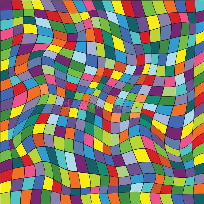 Dirigez l'illustration d'un modèle de répétition sans couture de s coloré illustration de vecteur
