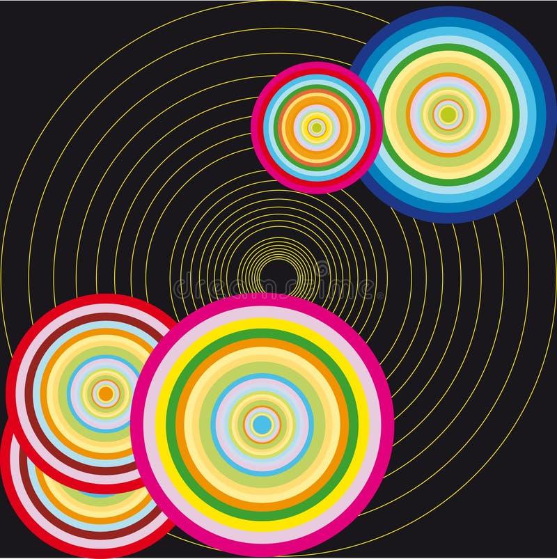 Dirigez l'illustration de cercle illustration libre de droits
