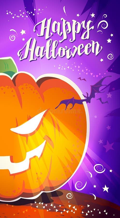Download Dirigez La Carte Plate De Halloween, Publicité, Bannière, Affiche, Plaquette, Invitation De Partie, Conception De Flayer Illustration de Vecteur - Illustration du automne, carte: 77157203