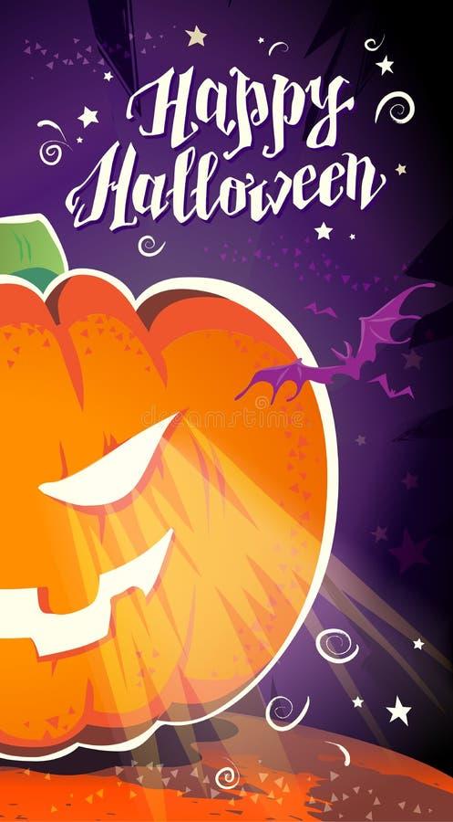Download Dirigez La Carte Plate De Halloween, Publicité, Bannière, Affiche, Plaquette, Invitation De Partie, Conception De Flayer Illustration de Vecteur - Illustration du bouche, illustration: 77157556