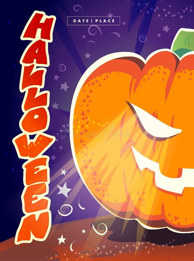 Download Dirigez La Carte Plate De Halloween, Publicité, Bannière, Affiche, Plaquette, Invitation De Partie, Conception De Flayer Illustration Stock - Illustration du noir, drapeau: 77157747