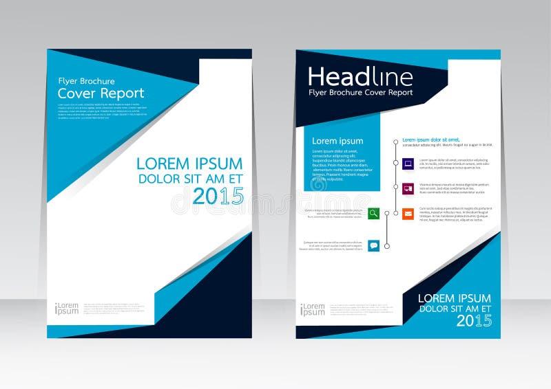 Dirigez la conception pour l'affiche d'insecte de brochure de rapport de couverture dans la taille A4 illustration de vecteur