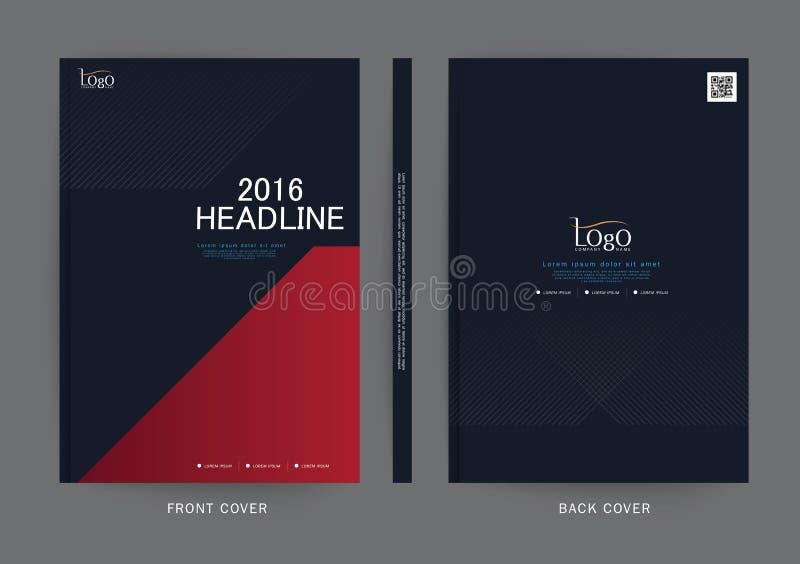 Dirigez la conception pour le rapport de couverture, brochure, l'insecte, affiche dans la taille A4 illustration stock