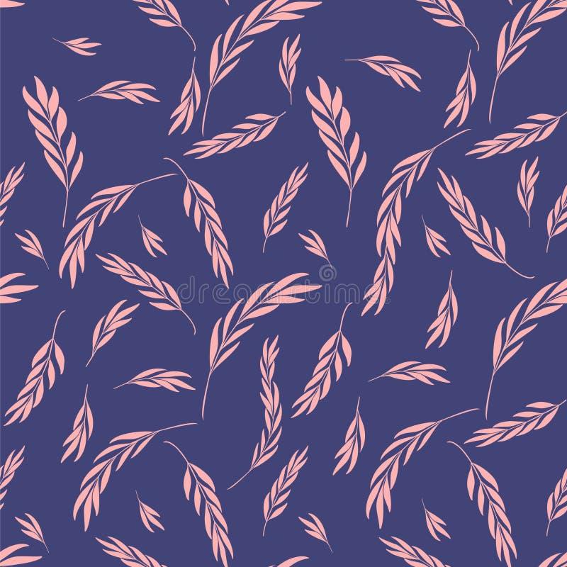 Dirigez la configuration sans joint Fond élégant floral avec le graphique illustration de vecteur