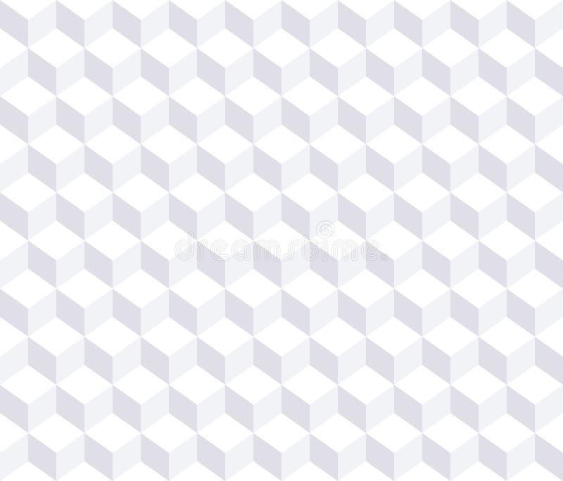 Dirigez la configuration sans joint Fond 3d blanc illustration stock