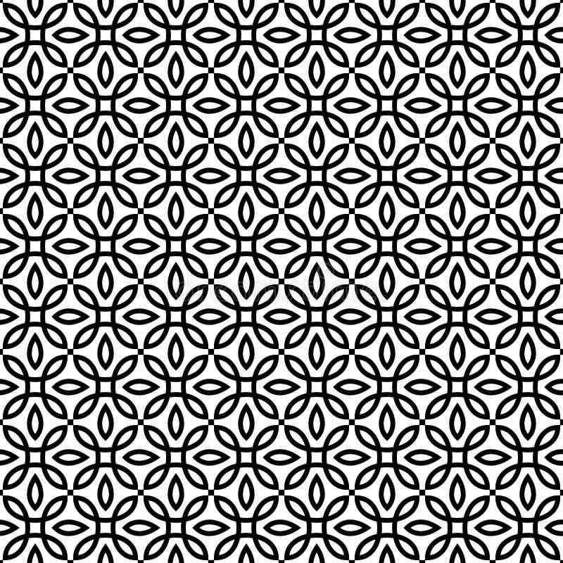 Dirigez la configuration sans joint texture élégante moderne Répétition des tuiles géométriques illustration libre de droits