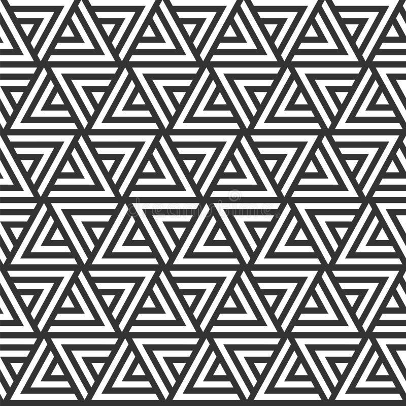 Dirigez la configuration sans joint texture élégante moderne Répétition du geome illustration libre de droits