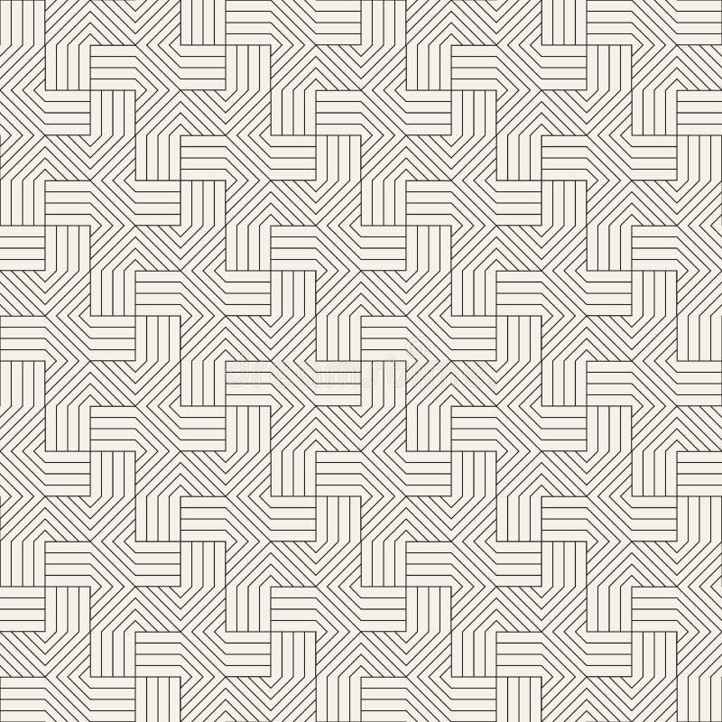 Dirigez la configuration sans joint Texture abstraite élégante moderne Répétition des tuiles géométriques photo libre de droits
