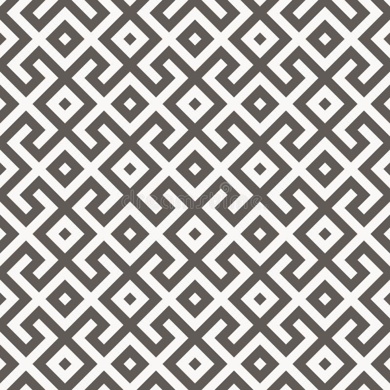 Dirigez la configuration sans joint Texture géométrique illustration de vecteur