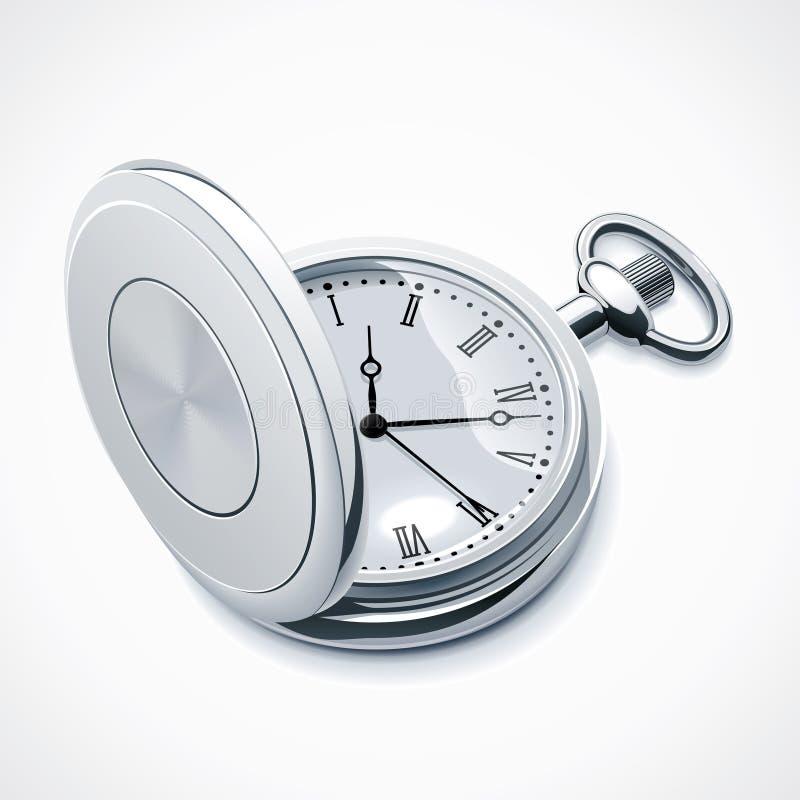Dirigez la montre de poche illustration stock