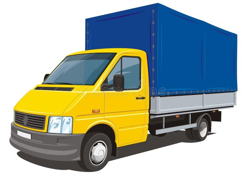 Camion de livraison illustration de vecteur