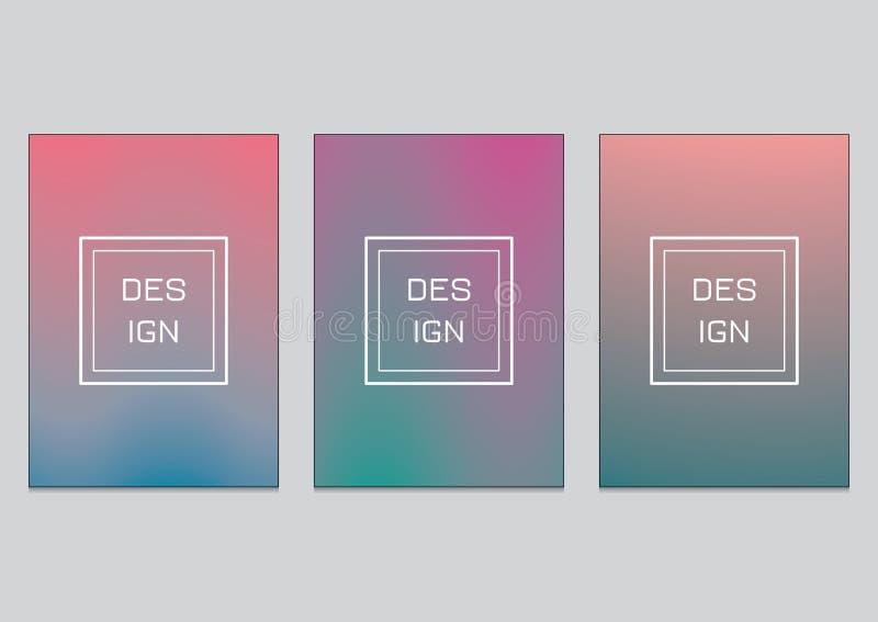 Dirigez le fond abstrait de modèle d'illustration avec la ligne texture de gradient illustration stock