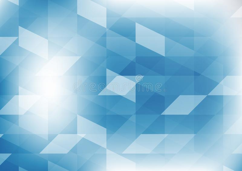Dirigez le fond abstrait graphique bleu géométrique d'illustration de couleur Conception de polygone de vecteur pour vos affaires illustration de vecteur