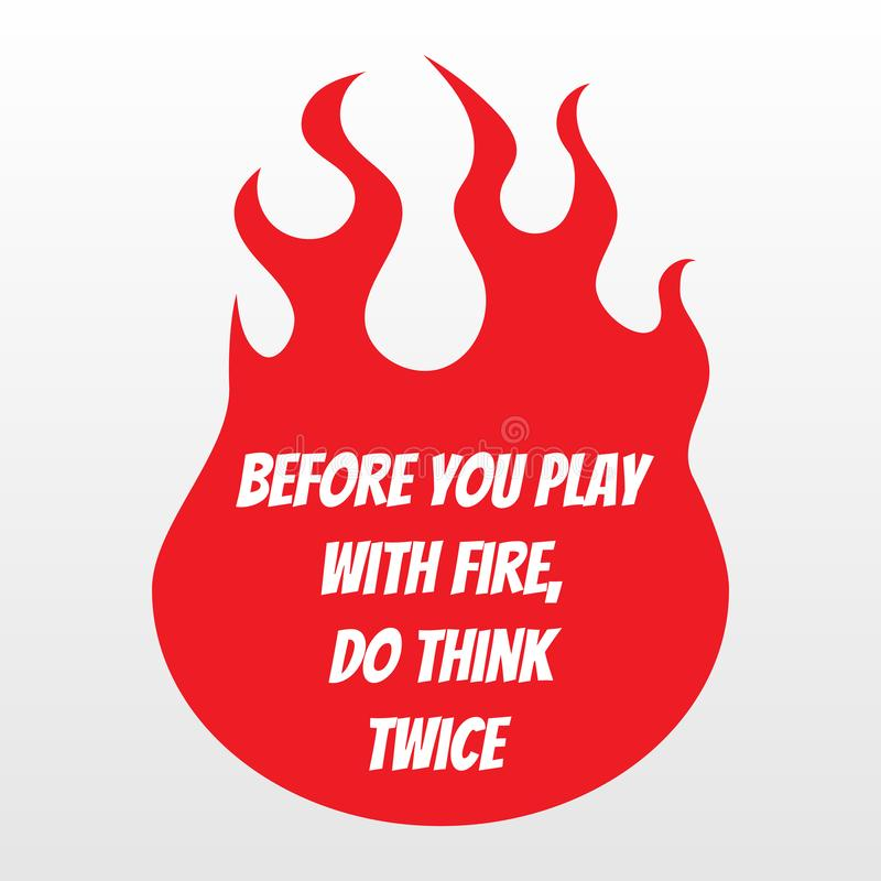 Dirigez le fond de flamme du feu, desing de T-shirt et le slogan photographie stock libre de droits