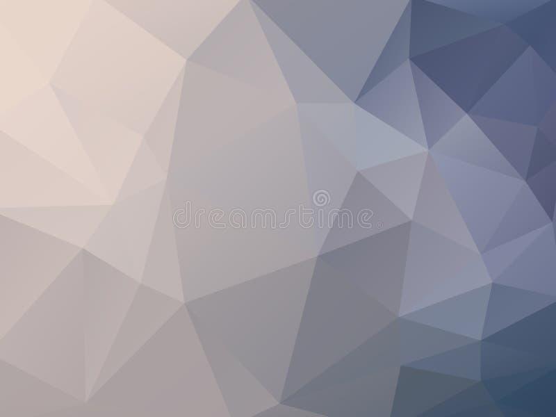 Dirigez le fond géométrique illustration stock