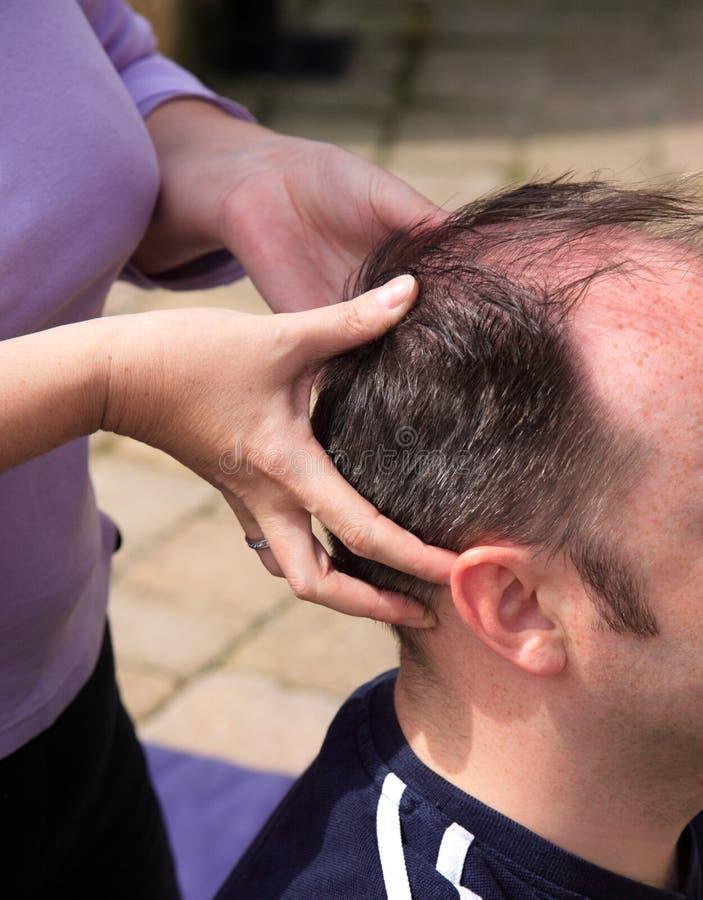 Dirigez le massage image stock