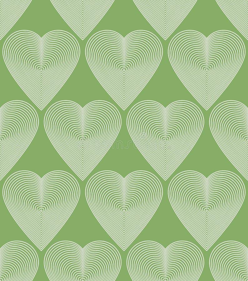 Dirigez le modèle fleuri lumineux avec les lignes graphiques, bande symétrique illustration libre de droits