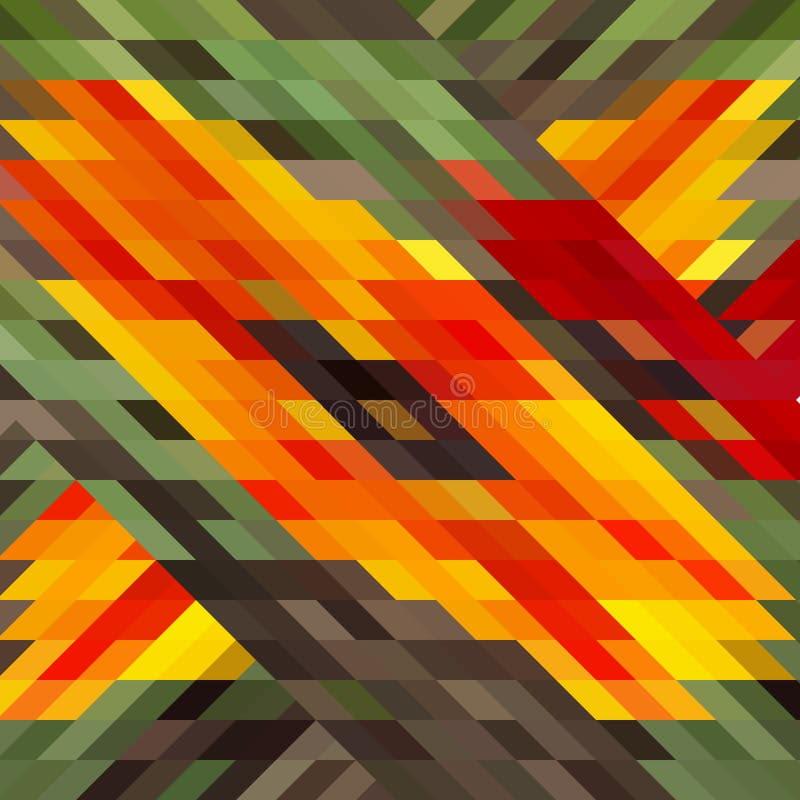 Dirigez le modèle géométrique avec des formes géométriques, losange illustration de vecteur