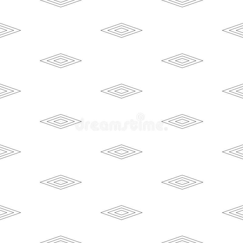 Dirigez le modèle sans couture minimaliste, texture subtile avec le contour illustration libre de droits