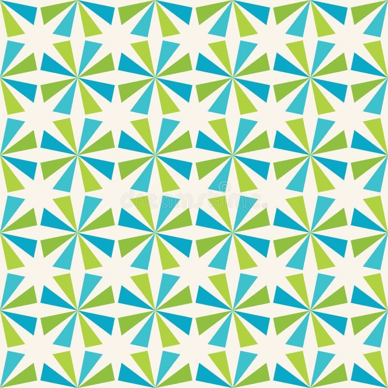 Dirigez le profil sous convention astérisque coloré sans couture moderne de la géométrie, fond géométrique abstrait de couleur illustration de vecteur