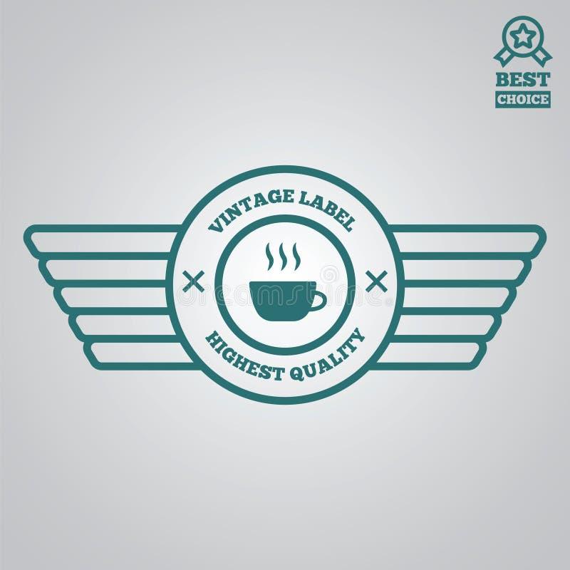 Download Dirigez Le Style De Vintage D'éléments, De Label, D'insigne Et De Silhouette De Logotype Illustration Stock - Illustration du élément, insignes: 77160043