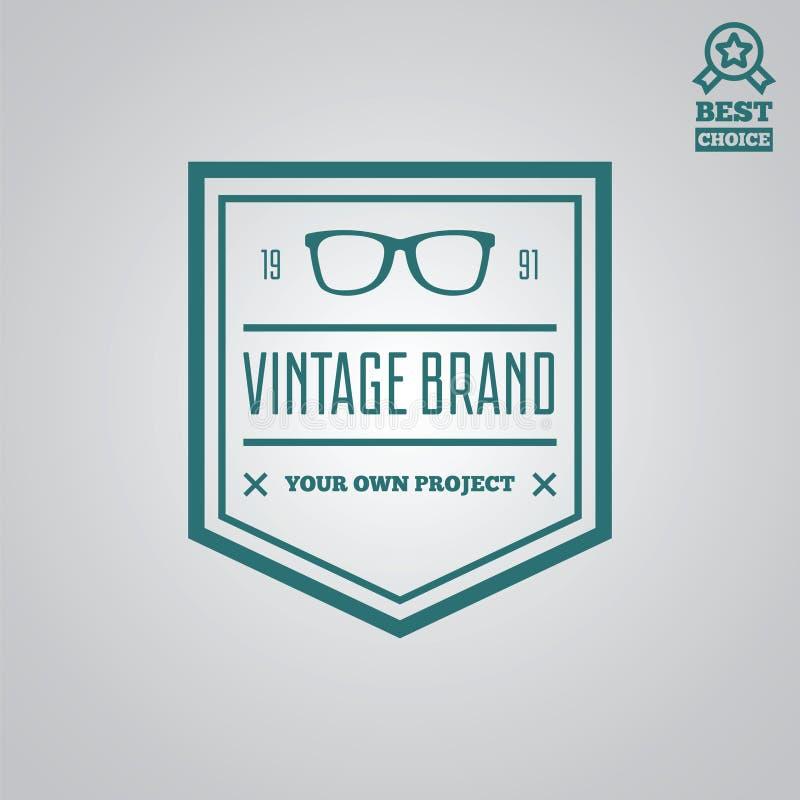 Download Dirigez Le Style De Vintage D'éléments, De Label, D'insigne Et De Silhouette De Logotype Illustration Stock - Illustration du emblème, luxe: 77160299