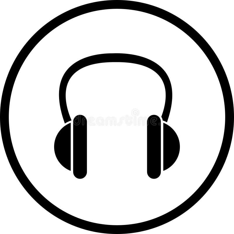 Dirigez Le Symbole D écouteurs Photos libres de droits