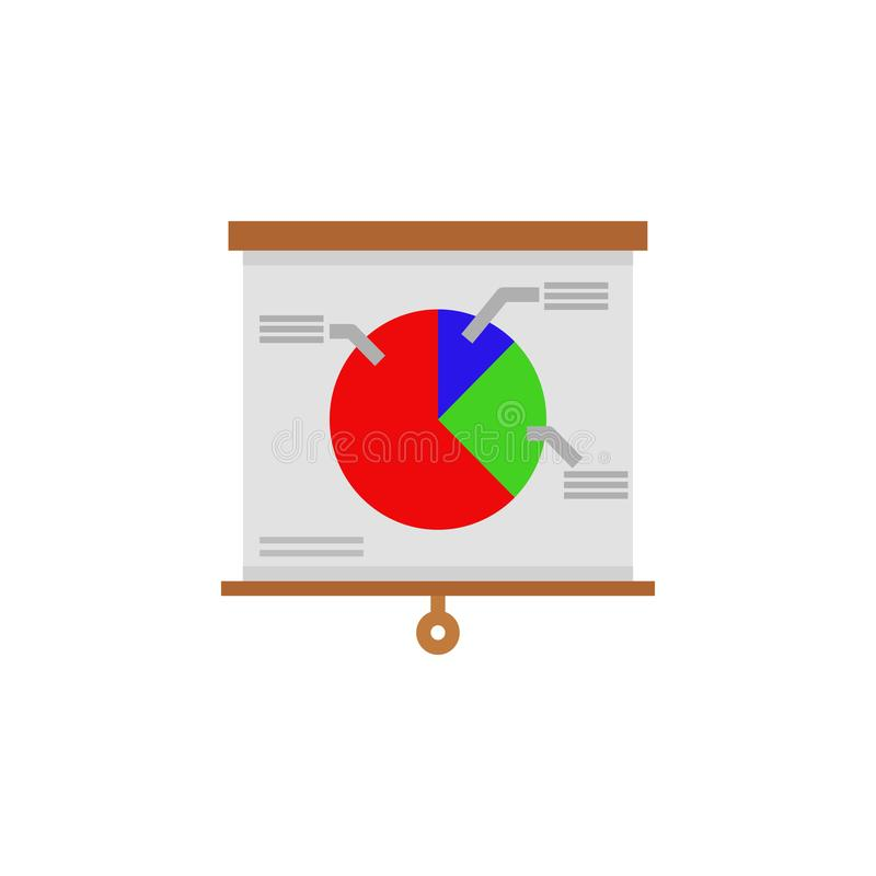 Dirigez les graphiques color?s d'infos pour vos pr?sentations d'affaires Peuvent ?tre employ?es pour la disposition de site Web,  illustration libre de droits
