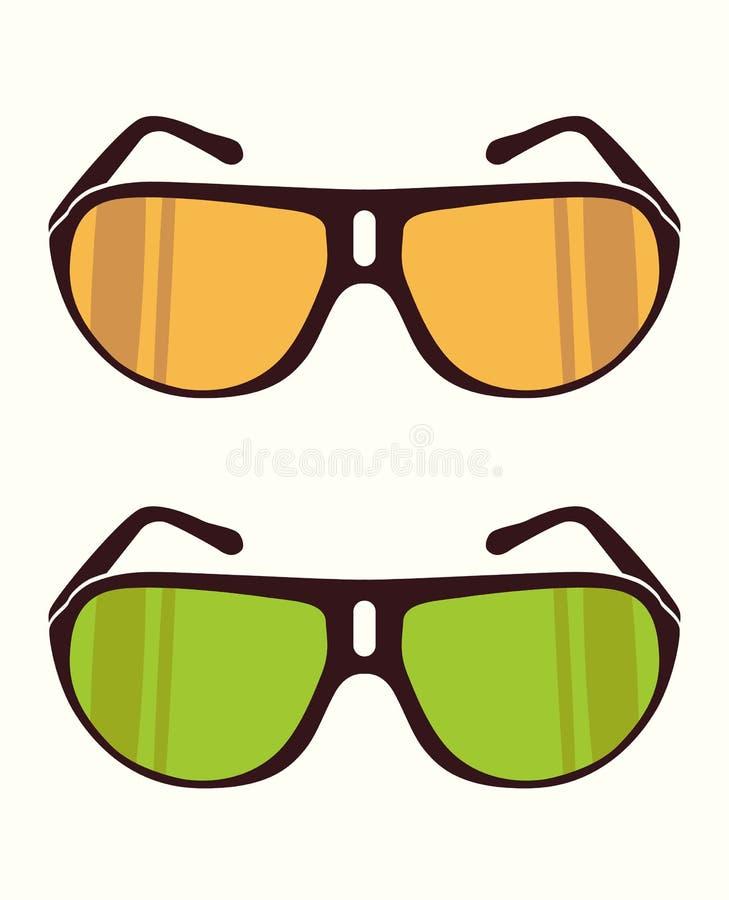Dirigez les lunettes de soleil images stock