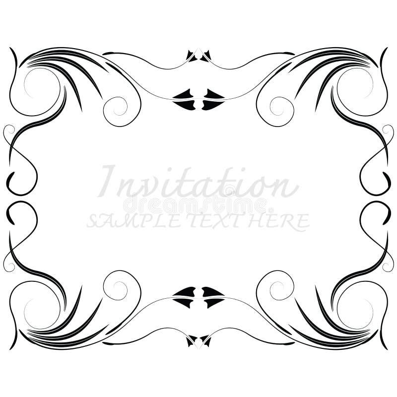 Dirigez les trames décoratives illustration stock
