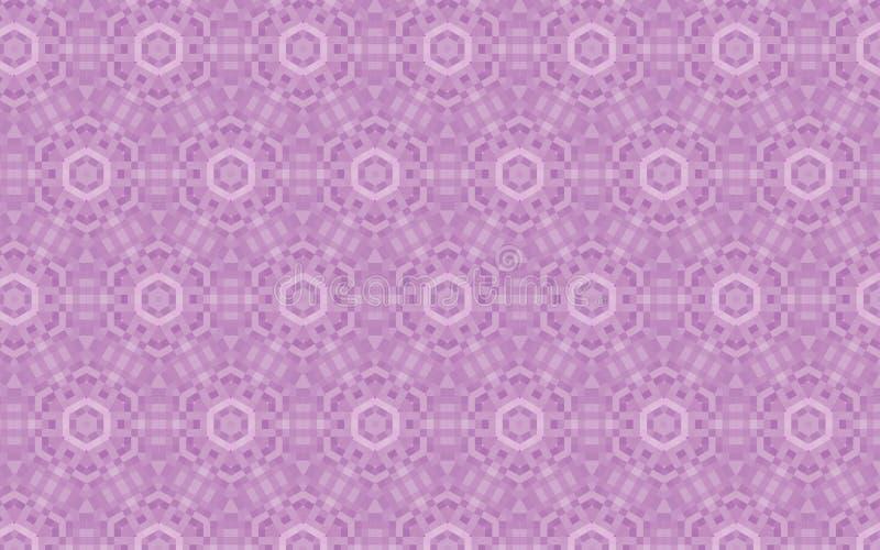 Dirigez répéter le modèle dans le lilas et les couleurs calmes mauve illustration libre de droits