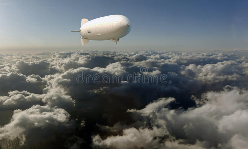 Dirigible libre illustration
