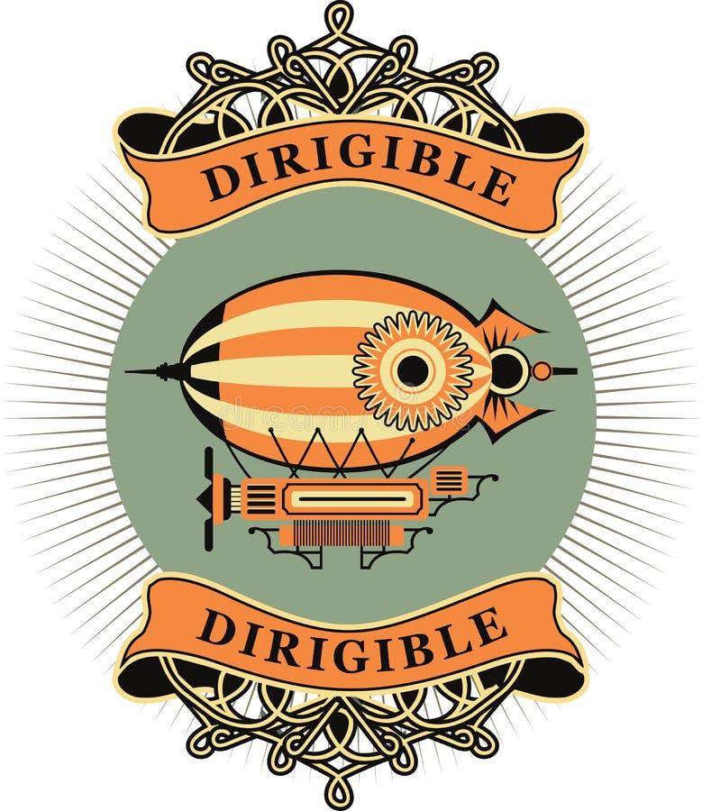 dirigible royalty-vrije illustratie