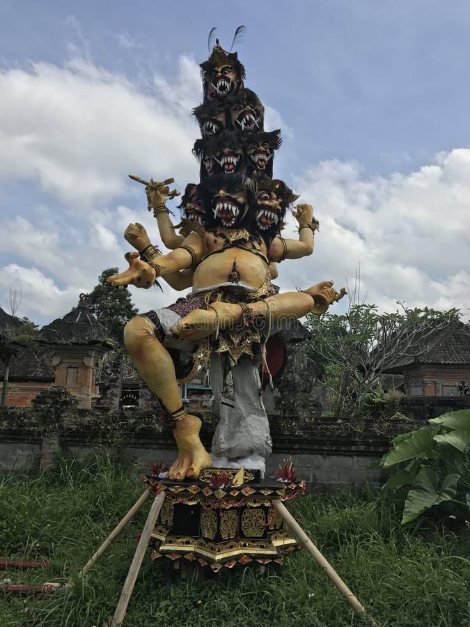 9 dirigiram o deus indonésio imagens de stock royalty free