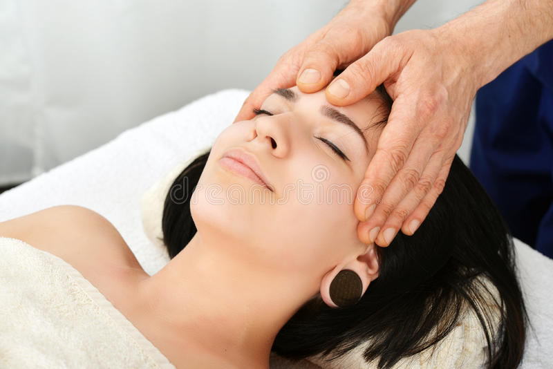 Dirija a massagem fotos de stock