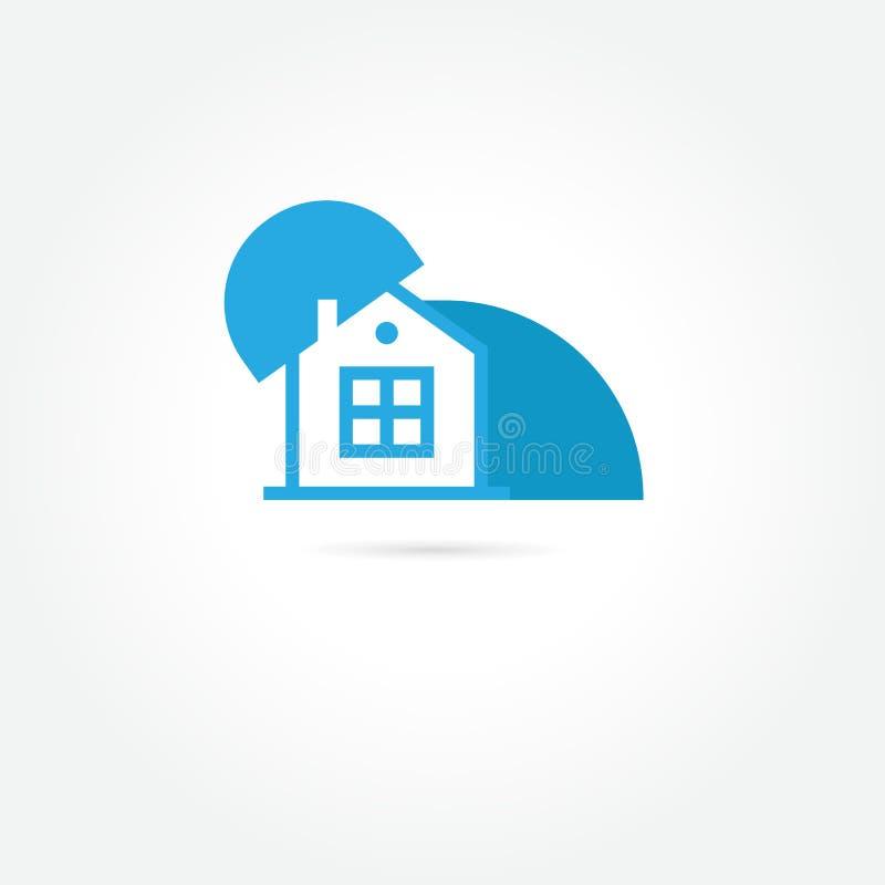 Dirija o logotipo Projeto moderno Ilustração do vetor no backgrou branco ilustração stock