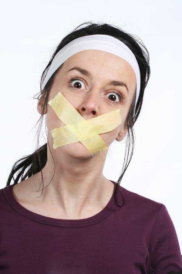 Diritti dell'uomo - libertà di parola fotografia stock