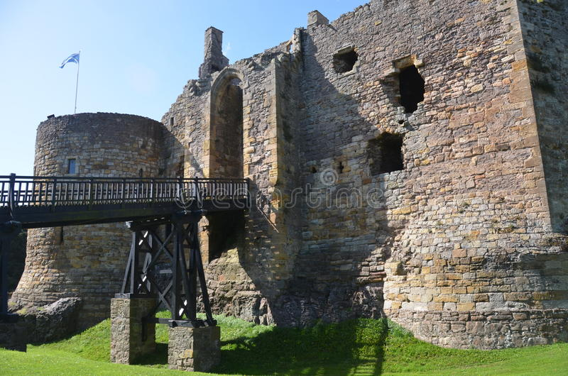 Dirleton Castle royalty free stock images