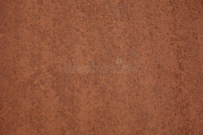 Dirt background or texture with small rocks stock image