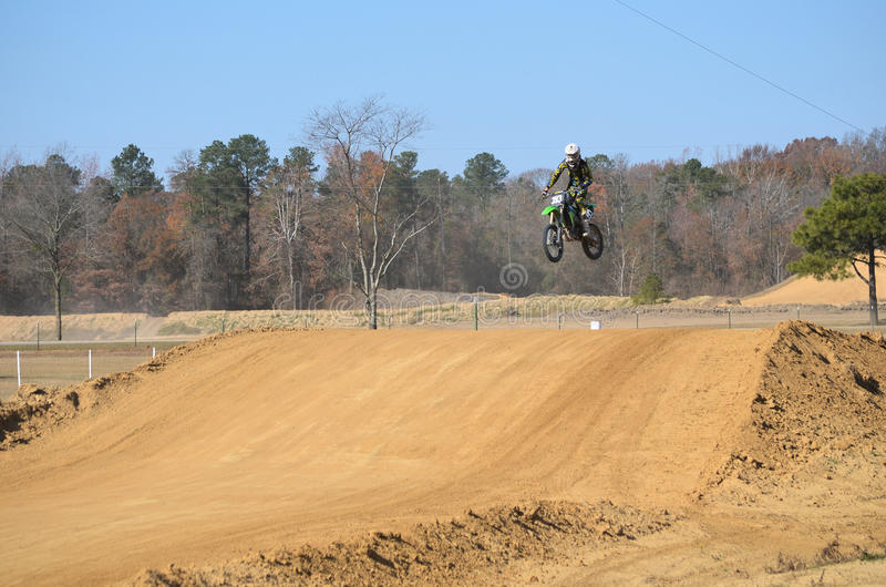Dirt Bike Flying High