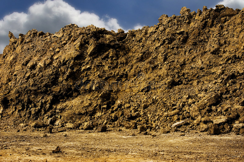 Dirt Pile royalty free stock photo