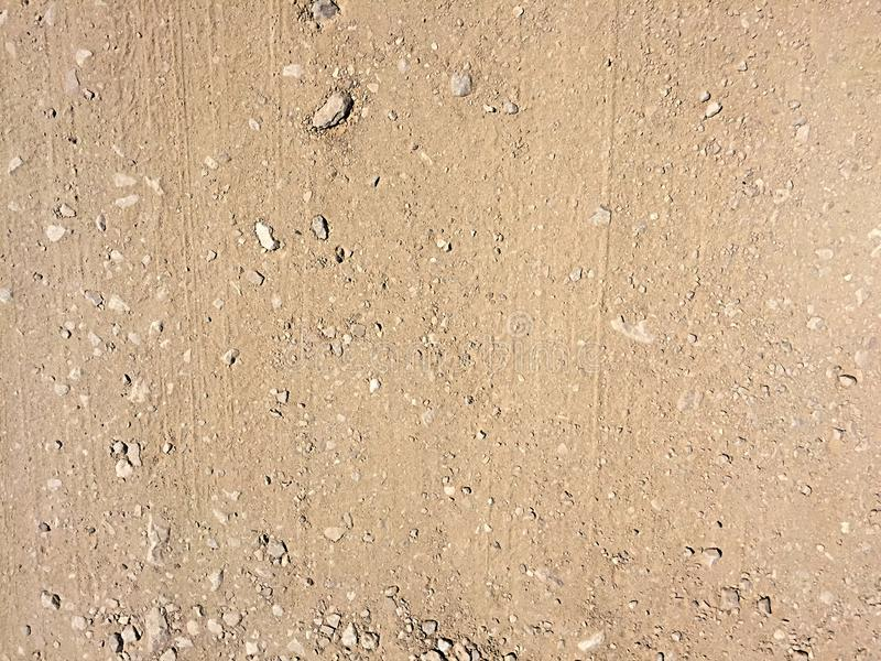 Dirt road background texture. royalty free stock images
