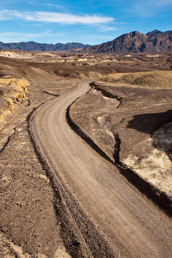 Dirt Road in Death Valley