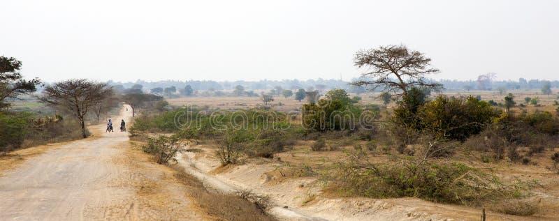 Download Dirt Road In Myanmar Landscape Editorial Stock Image - Image: 30147794
