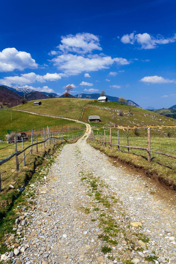 Download Dirt Road In The Mountains Stock Image - Image: 24874861