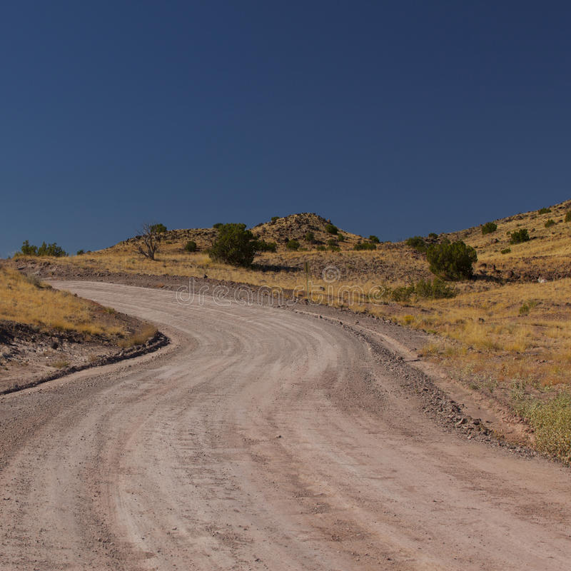 Dirt Road New Mexico royalty free stock photo