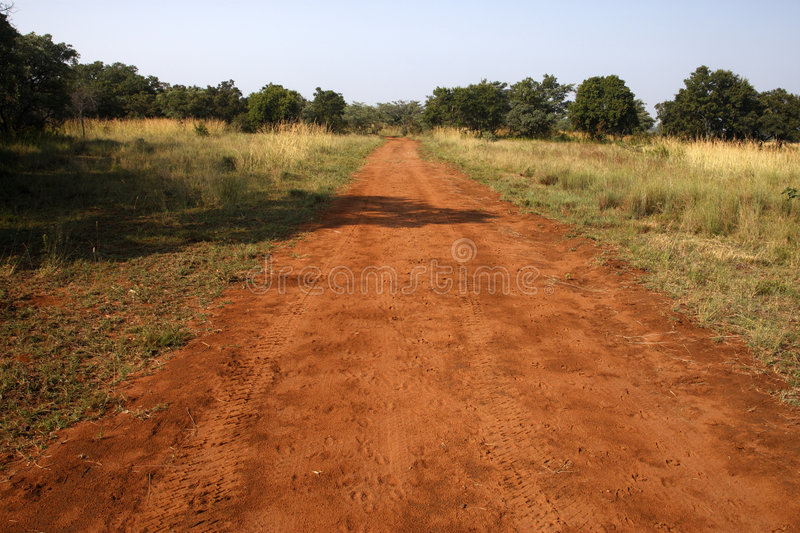 Dirt track royalty free stock image