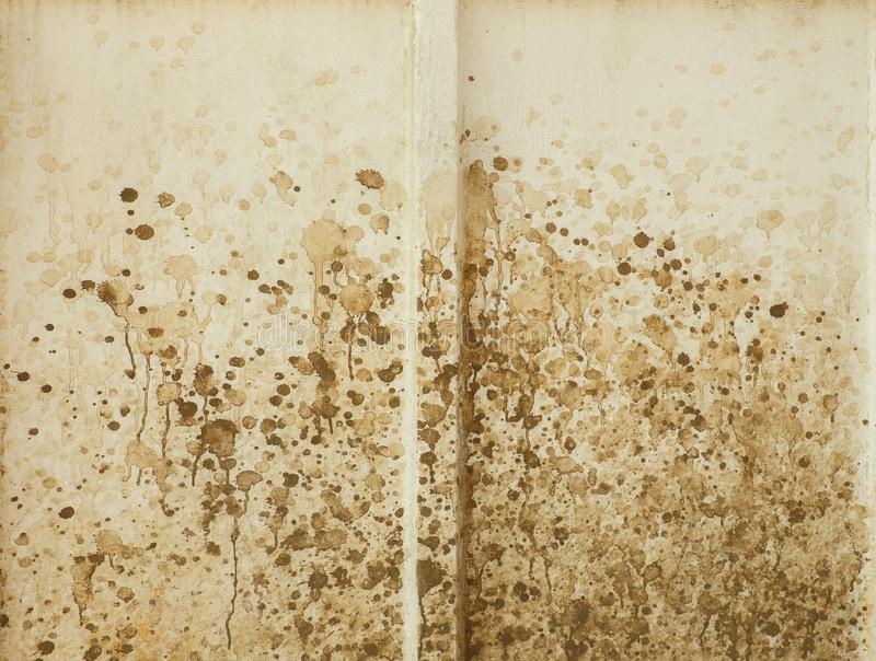 Dirt On A White Wall Looks As Abstract Painting. Stock Image - Image ...